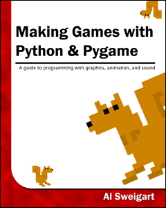 Making Games with Python and Pygame book cover thumbnail