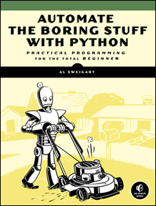 Cover image of Automate the Boring Stuff with Python
