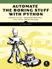 Automate the Boring Stuff book cover thumbnail