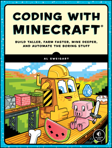 Coding with Minecraft book cover thumbnail