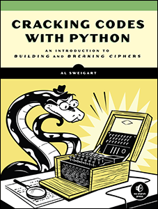 Cracking Codes with Python book cover thumbnail